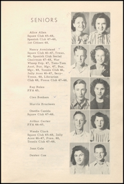 Page 17, 1948 Edition, Honey Grove High School - Tom Tom Yearbook (Honey Grove, TX) online yearbook collection