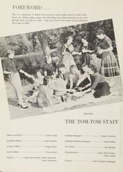 Page 6, 1956 Edition, Honey Grove High School - Tom Tom Yearbook (Honey Grove, TX) online yearbook collection
