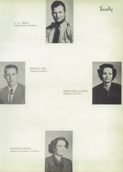 Page 13, 1950 Edition, Grandview High School - Zebra Yearbook (Grandview, TX) online yearbook collection