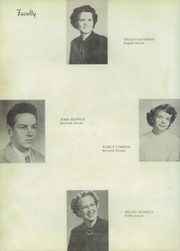 Page 14, 1950 Edition, Grandview High School - Zebra Yearbook (Grandview, TX) online yearbook collection