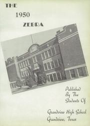 Page 7, 1950 Edition, Grandview High School - Zebra Yearbook (Grandview, TX) online yearbook collection