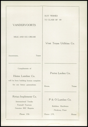 Rotan High School - Yellowhammer Yearbook (Rotan, TX) online yearbook collection, 1949 Edition, Page 145