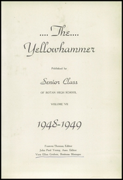 Page 9, 1949 Edition, Rotan High School - Yellowhammer Yearbook (Rotan, TX) online yearbook collection