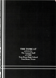 Page 5, 1980 Edition, Tom Bean High School - Tom Cat Yearbook (Tom Bean, TX) online yearbook collection