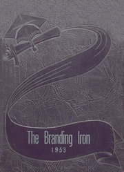 1953 Edition, Mason High School - Branding Iron Yearbook (Mason, TX)