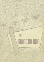 1955 Edition, Mason High School - Branding Iron Yearbook (Mason, TX)