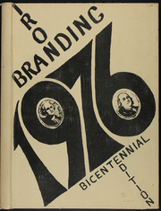 1976 Edition, Mason High School - Branding Iron Yearbook (Mason, TX)