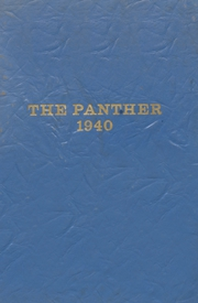 1940 Edition, Blanco High School - Panther Yearbook (Blanco, TX)