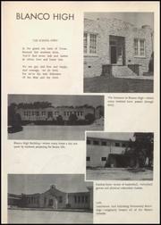 Page 11, 1958 Edition, Blanco High School - Panther Yearbook (Blanco, TX) online yearbook collection