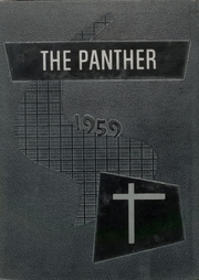 1959 Edition, Blanco High School - Panther Yearbook (Blanco, TX)