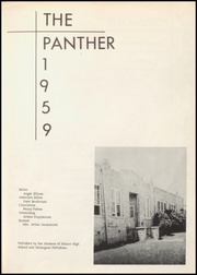 Page 9, 1959 Edition, Blanco High School - Panther Yearbook (Blanco, TX) online yearbook collection
