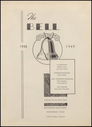 Page 7, 1949 Edition, Whitewright High School - Bell Yearbook (Whitewright, TX) online yearbook collection