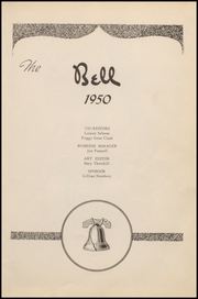 Page 7, 1950 Edition, Whitewright High School - Bell Yearbook (Whitewright, TX) online yearbook collection