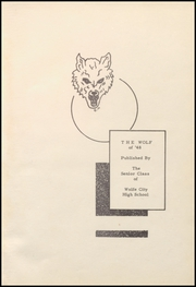 Page 7, 1948 Edition, Wolfe City High School - Wolf Yearbook (Wolfe City, TX) online yearbook collection