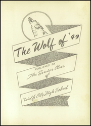Page 7, 1949 Edition, Wolfe City High School - Wolf Yearbook (Wolfe City, TX) online yearbook collection