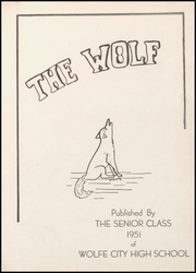 Page 7, 1951 Edition, Wolfe City High School - Wolf Yearbook (Wolfe City, TX) online yearbook collection