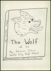 Page 7, 1953 Edition, Wolfe City High School - Wolf Yearbook (Wolfe City, TX) online yearbook collection