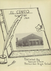 Page 5, 1949 Edition, Benavides High School - El Cenizo Yearbook (Benavides, TX) online yearbook collection
