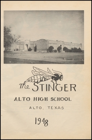 Page 7, 1948 Edition, Alto High School - Stinger Yearbook (Alto, TX) online yearbook collection