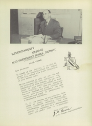 Page 15, 1952 Edition, Alto High School - Stinger Yearbook (Alto, TX) online yearbook collection