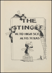 Page 7, 1953 Edition, Alto High School - Stinger Yearbook (Alto, TX) online yearbook collection