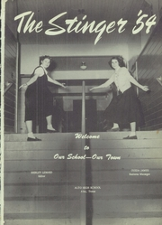 Page 5, 1954 Edition, Alto High School - Stinger Yearbook (Alto, TX) online yearbook collection
