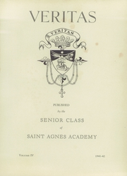 Page 5, 1942 Edition, St Agnes Academy - Veritas Yearbook (Houston, TX) online yearbook collection