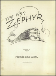 Page 5, 1950 Edition, Paducah High School - Zephyr Yearbook (Paducah, TX) online yearbook collection