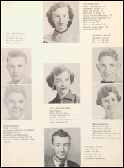 Page 17, 1954 Edition, Paducah High School - Zephyr Yearbook (Paducah, TX) online yearbook collection