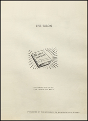 Page 5, 1950 Edition, Eldorado High School - Talon Yearbook (Eldorado, TX) online yearbook collection