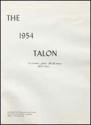 Page 5, 1955 Edition, Eldorado High School - Talon Yearbook (Eldorado, TX) online yearbook collection
