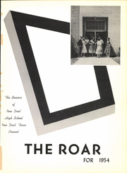Page 5, 1954 Edition, New Deal High School - Roar Yearbook (New Deal, TX) online yearbook collection