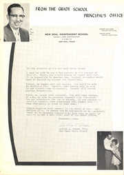 Page 12, 1955 Edition, New Deal High School - Roar Yearbook (New Deal, TX) online yearbook collection