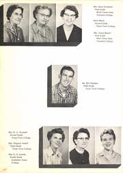 Page 14, 1955 Edition, New Deal High School - Roar Yearbook (New Deal, TX) online yearbook collection