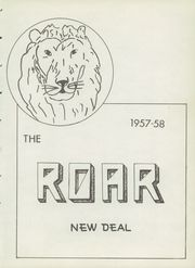 Page 7, 1958 Edition, New Deal High School - Roar Yearbook (New Deal, TX) online yearbook collection