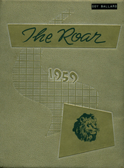 Page 1, 1959 Edition, New Deal High School - Roar Yearbook (New Deal, TX) online yearbook collection