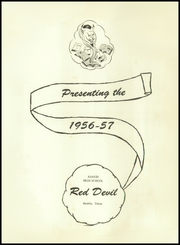 Page 5, 1957 Edition, Rankin High School - Red Devil Yearbook (Rankin, TX) online yearbook collection