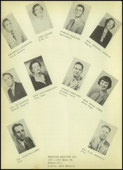 Page 12, 1952 Edition, Farwell High School - Roundup Yearbook (Farwell, TX) online yearbook collection