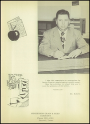 Page 9, 1952 Edition, Farwell High School - Roundup Yearbook (Farwell, TX) online yearbook collection