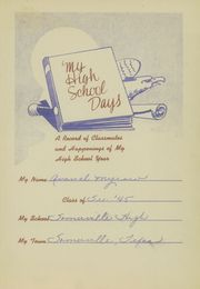 Page 5, 1945 Edition, Somerville High School - Chieftain Yearbook (Somerville, TX) online yearbook collection
