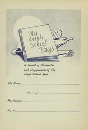 Page 5, 1946 Edition, Somerville High School - Chieftain Yearbook (Somerville, TX) online yearbook collection