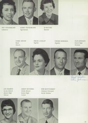 Page 15, 1960 Edition, Stinnett High School - Rattler Yearbook (Stinnett, TX) online yearbook collection