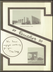 Page 7, 1950 Edition, Sundown High School - Gusher Yearbook (Sundown, TX) online yearbook collection