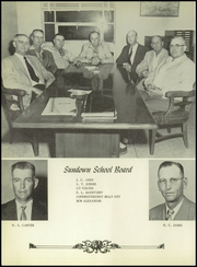 Page 12, 1957 Edition, Sundown High School - Gusher Yearbook (Sundown, TX) online yearbook collection