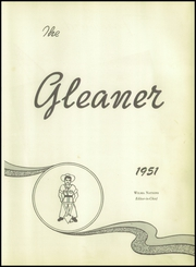 Page 7, 1951 Edition, Roscoe High School - Gleaner Yearbook (Roscoe, TX) online yearbook collection