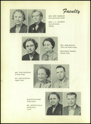 Page 12, 1954 Edition, Roscoe High School - Gleaner Yearbook (Roscoe, TX) online yearbook collection