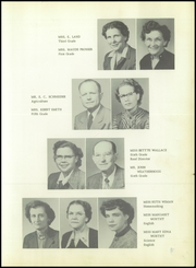 Page 13, 1954 Edition, Roscoe High School - Gleaner Yearbook (Roscoe, TX) online yearbook collection