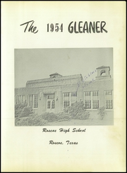 Page 5, 1954 Edition, Roscoe High School - Gleaner Yearbook (Roscoe, TX) online yearbook collection