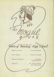 Page 7, 1948 Edition, Munday High School - Mogul Yearbook (Munday, TX) online yearbook collection