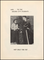 Page 8, 1957 Edition, Archer City High School - Wildcat Yearbook (Archer City, TX) online yearbook collection